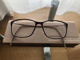 Glasses dark brown