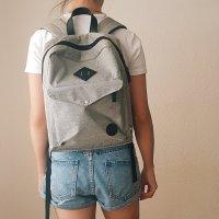 Minimalistischer Quadratischer Rucksack