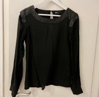 Minimum Bluzka z długim rękawem czarny