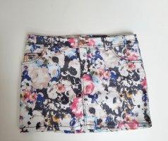Amisu Mini-jupe multicolore