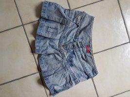 Minirock aus Jeans von Mexx W 30