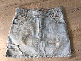 Minirock Gr.36 Jeans hellblau von Object