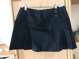 3suisses Spódnica mini czarny Bawełna