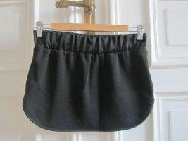 Minirock Jersey schwarz