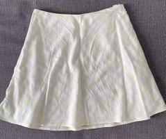 Devided von H&M Miniskirt pale green-white