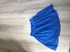 Fishbone Mini rok neon blauw