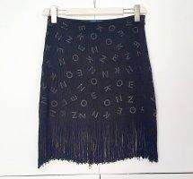 Minirock mit fransen von kenzo gr. L