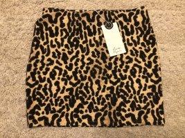 Minirock mit Leopardenmuster Zara S