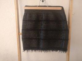 Minirock mit Textur