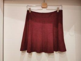 C&A Clockhouse Mini-jupe rouge carmin-bordeau