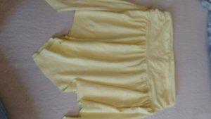Jupe à franges jaune primevère