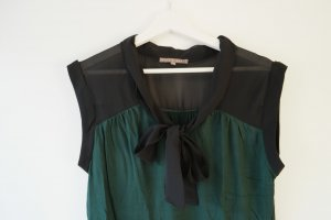 Mint&berry Blusa Camisa verde oscuro-negro