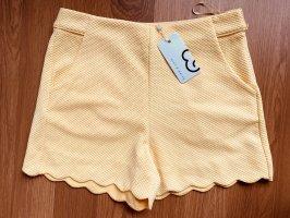 Mint&berry Shorts yellow
