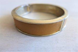 mint. Schmuck Armband Armreif Armspange gold  hellbraun Scandi