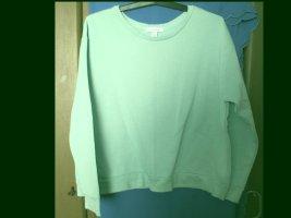 Mintfarbener Sweater in Größe 48