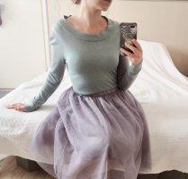 Mintgrüner weicher Pullover