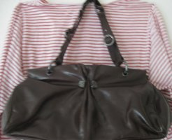 Miss Sixty Crossbody bag brown leather