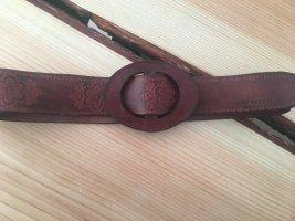 Miss Sixty Cinturón de cadera marrón Cuero