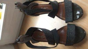 Miss Sixty Sandalen High Heels Gr.40 dunkelblau