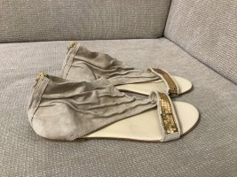 Miss Sixty Sandalias romanas marrón arena-beige
