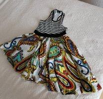 Miss Sixty Letnia sukienka Wielokolorowy Bawełna