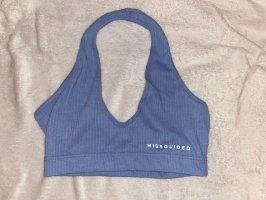 Missguided Camisa deportiva azul celeste