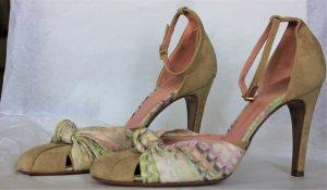 MISSONI 38 Schuhe Pumps Damen Mehrfarbig Bunt Hoher Gr. 38