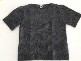 Missoni Grof gebreide trui donkergrijs