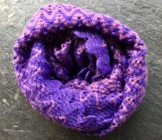 Missoni Écharpe en tricot violet foncé
