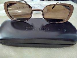 Missoni Kwadratowe okulary przeciwsłoneczne ciemnobrązowy