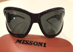 Missoni Oval Sunglasses brown violet