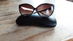 Missoni Ovale zonnebril zwart-goud