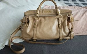 Miu Miu Hobos camel leather