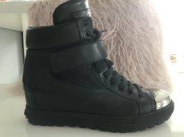 Miu Miu Booties black leather