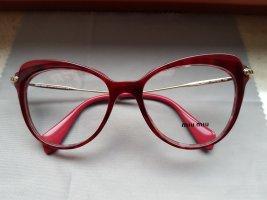 Miu Miu Glasses red acetate