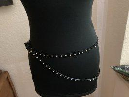 Miu Miu Double Belt black-gold-colored