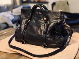 MIU MIU by PRADA Tasche Handtasche schwarz