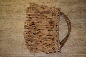 Miu Miu Sac porté épaule marron clair cuir