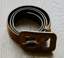 Miu Miu Leather Belt cognac-coloured leather