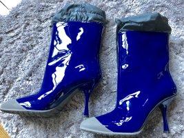 Miu Miu Botas de agua azul-azul acero