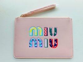 Miu Miu Borsa clutch rosa pallido