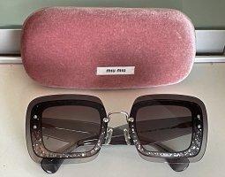 Miu Miu Angular Shaped Sunglasses multicolored
