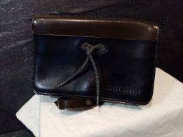 Miu Miu Sac à main noir-brun cuir
