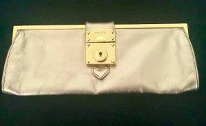 Miu Miu Prada Tasche Mini Clutch Pochette Leder Rose Gold Metallic Balltasche original