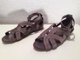 Miu Miu Sandalen aus grauem Leder Gr. 36,5