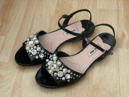 Miu Miu Outdoor sandalen zwart