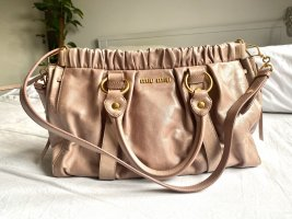Miu Miu Shoulder Bag rose-gold-coloured-dusky pink