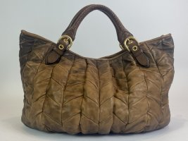 Miu Miu Mobile Phone Case brown leather