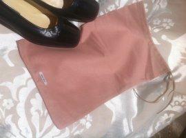 MiuMiu Wingtip Shoes nude cotton