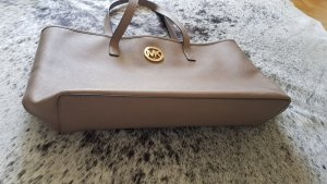 MK michael kors handtasche xl shopper taupe goldene hardware